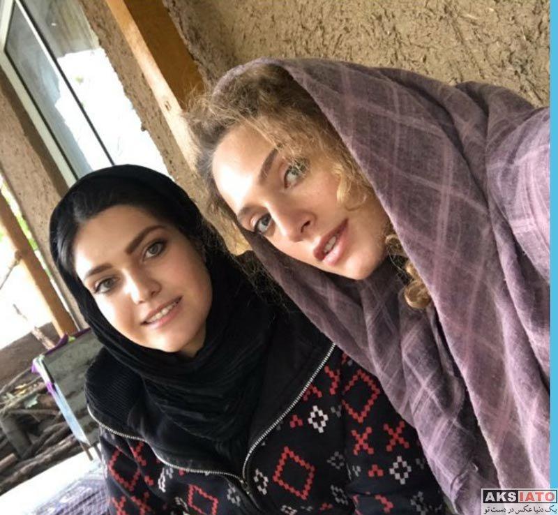 بازیگران بازیگران زن ایرانی  نگین معتضدی و مهشید مرندی در سر کار جدید (3 عکس)
