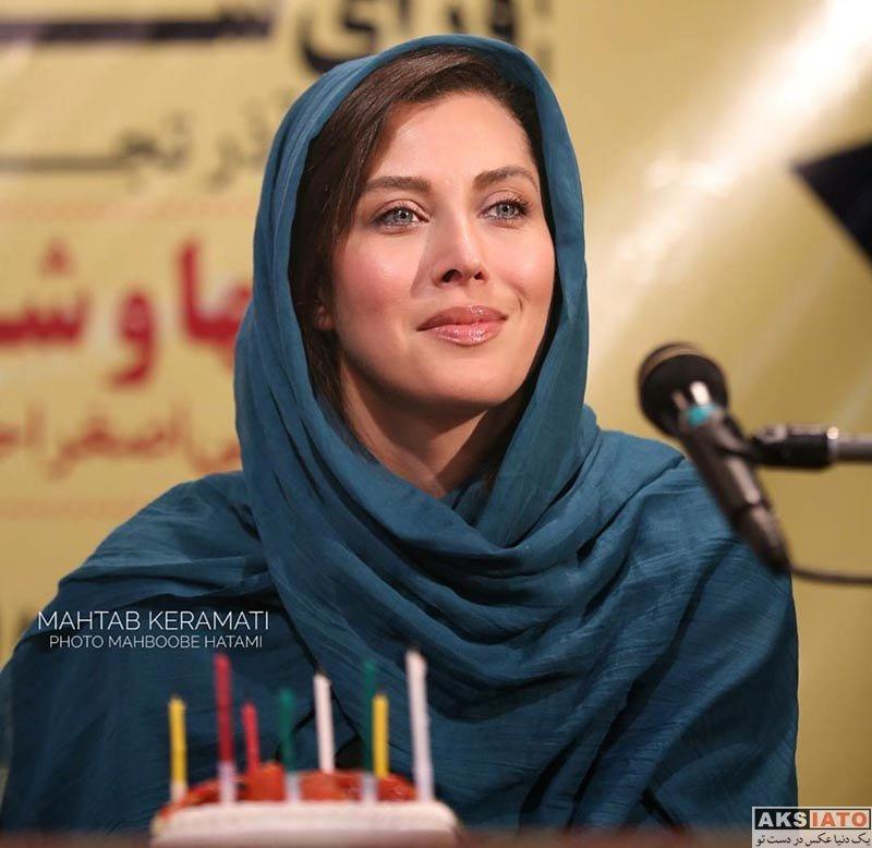 بازیگران بازیگران زن ایرانی جشن تولد ها  جشن تولد 47 سالگی مهتاب کرامتی (3 عکس)