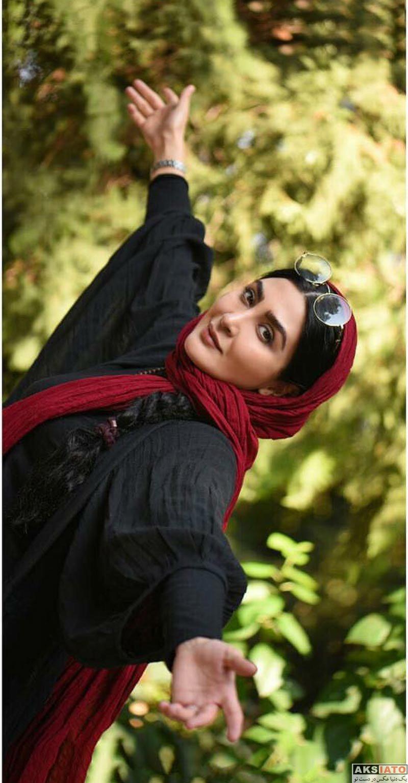 بازیگران بازیگران زن ایرانی  عکس های مریم معصومی در مهر ۹۶ (۱۰ تصویر)