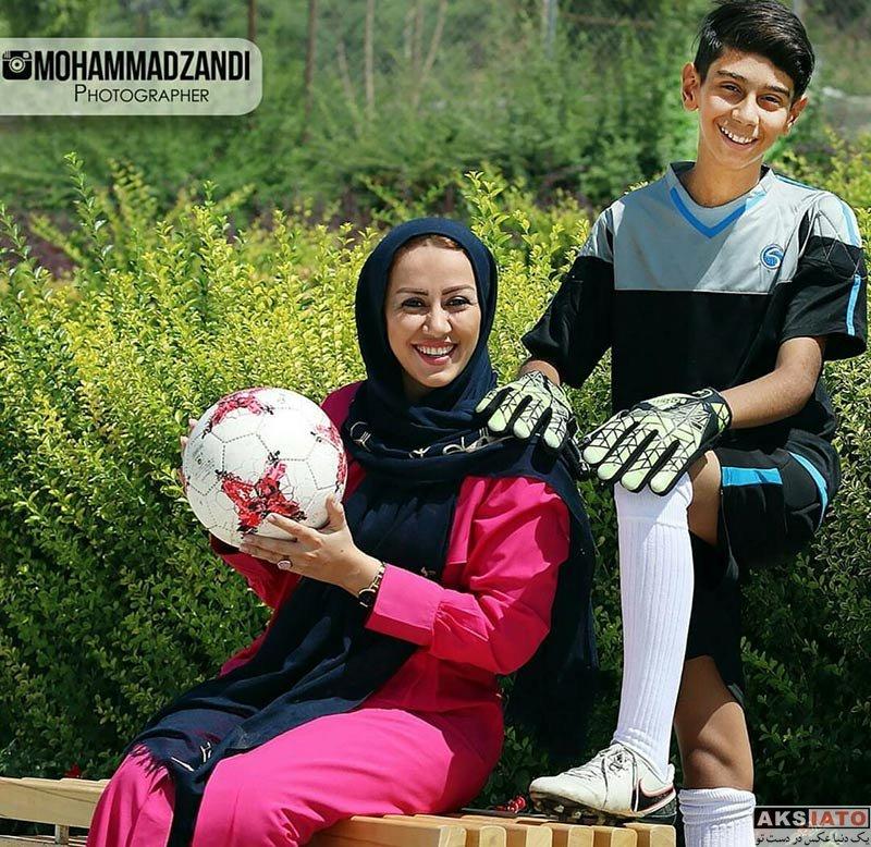 مجریان  عکس های مریم وطن پور برای مجله ورزش و تصویر (3تصویر)