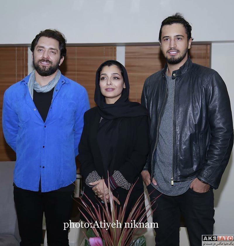 بازیگران بازیگران مرد ایرانی  مهرداد صدیقیان در در اکران مردمی فیلم زرد (3 عکس)