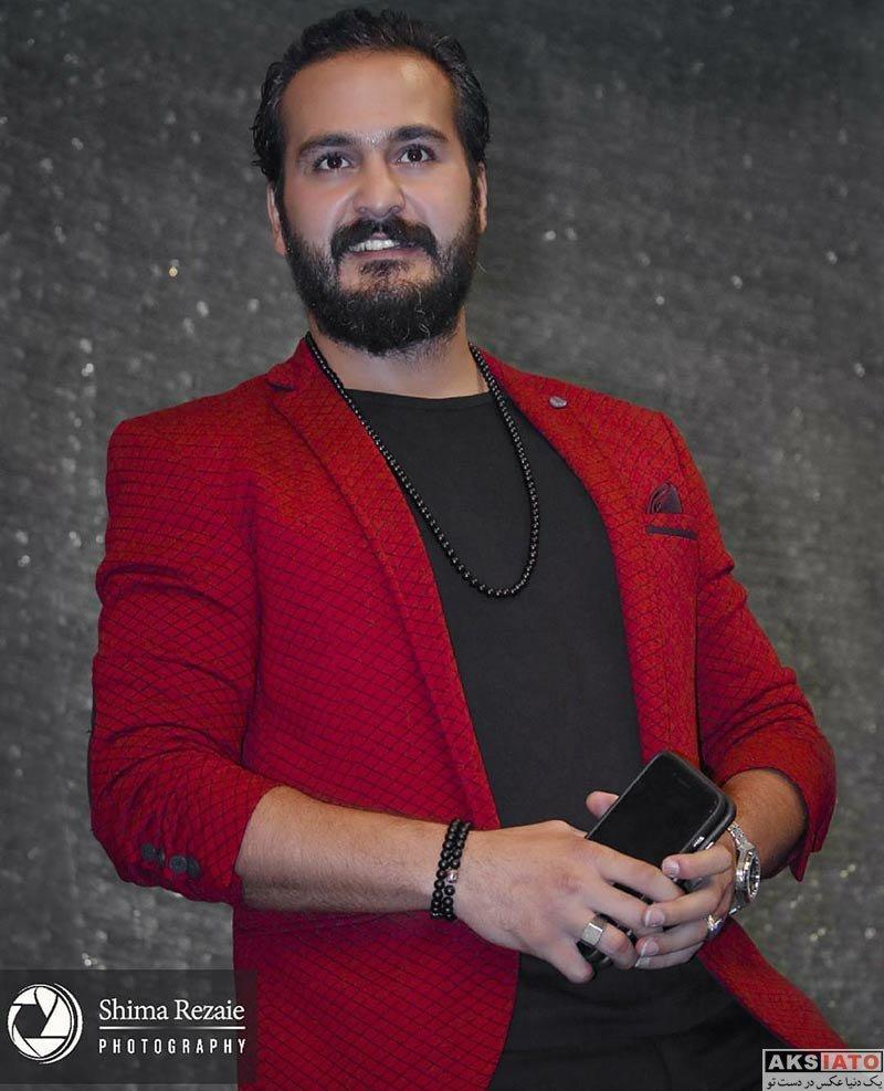 بازیگران بازیگران مرد ایرانی  میلاد کیمرام در  اکران خصوصی فیلم غیرمجاز (3 عکس)
