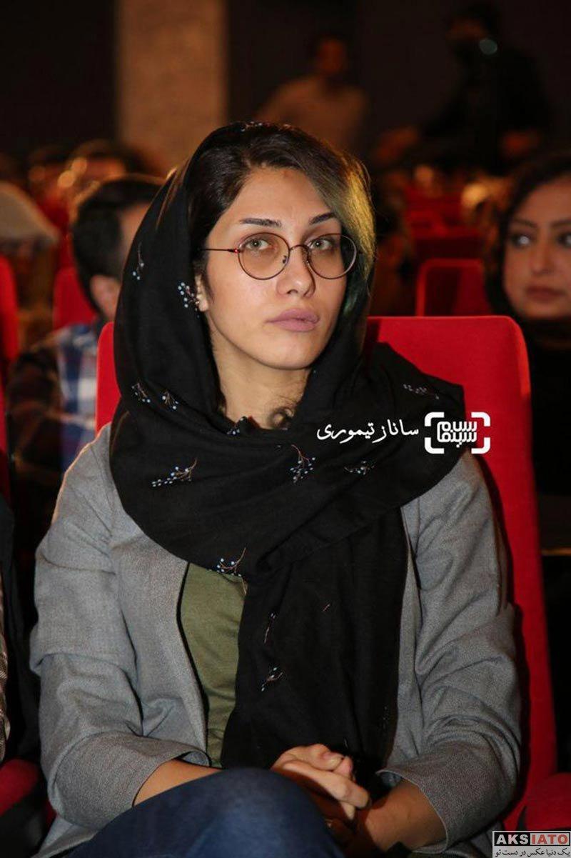 بازیگران بازیگران زن ایرانی  محدثه حیرت در مراسم اکران خصوصی فیلم «خانه (ائو)»