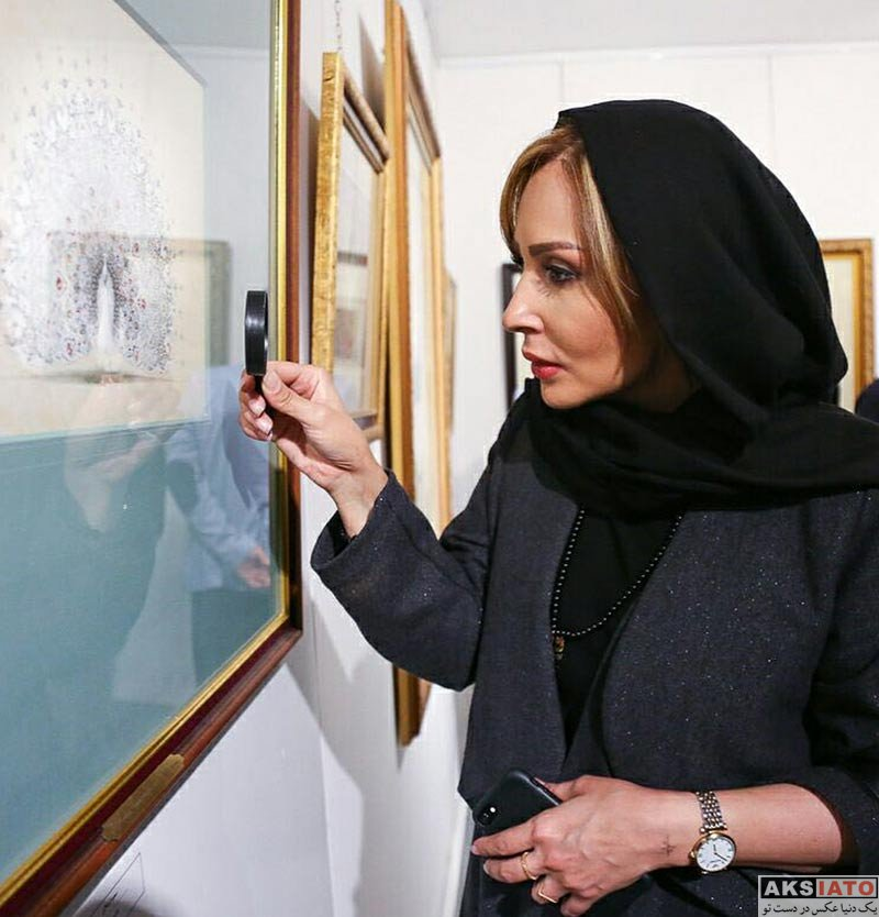 بازیگران بازیگران زن ایرانی جشن تولد ها  جشن تولد پرستو صالحی در کافه گالری گویا (3 عکس)