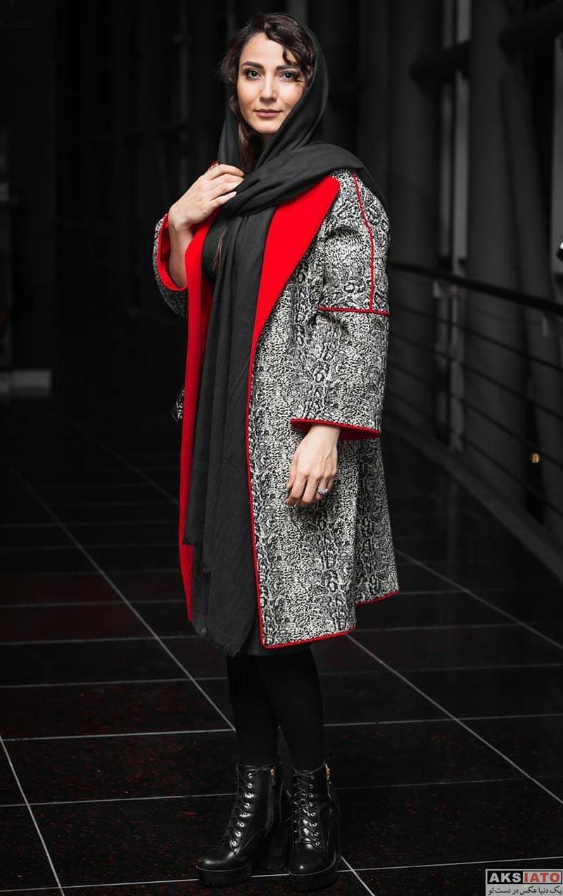 بازیگران بازیگران زن ایرانی  سمیرا حسن پور در اکران خصوصی فیلم زرد (۳ عکس)
