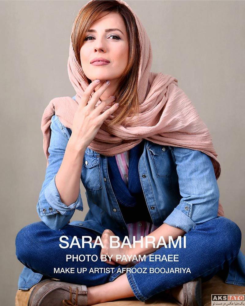 عکس آتلیه و استودیو  عکس های آتلیه سارا بهرامی با تیپ جین در آبان ۹۶
