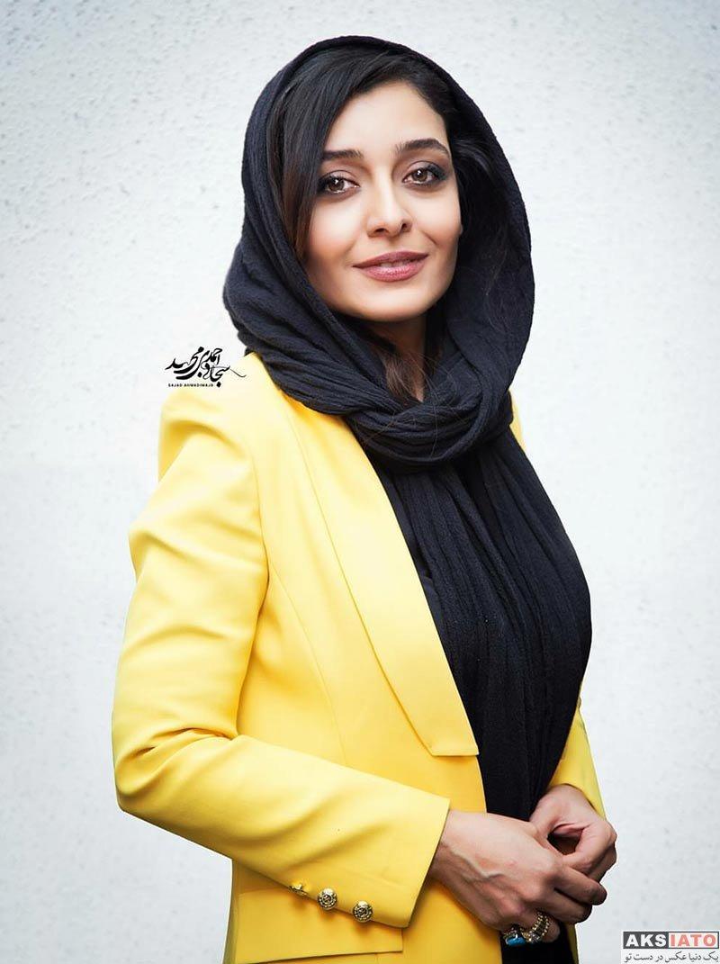 بازیگران بازیگران زن ایرانی  ساره بیات در اکران فیلم «زرد» در سینما قدس (7 عکس)
