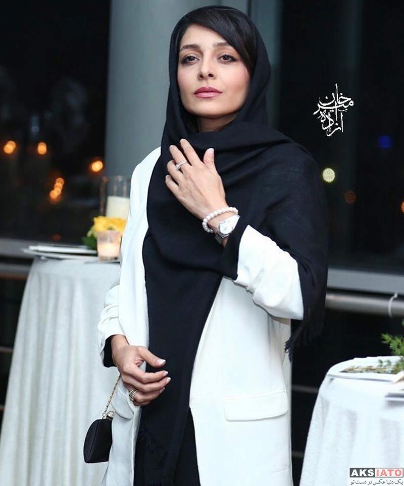 بازیگران بازیگران زن ایرانی  ساره بیات در اکران خصوصی فیلم زرد (5 عکس)