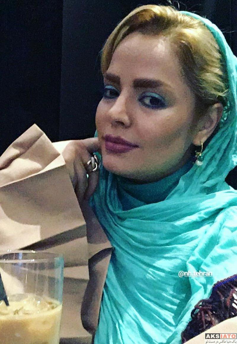 بازیگران بازیگران زن ایرانی  سپیده خداوردی در کافه رستوران نیل (3 عکس)