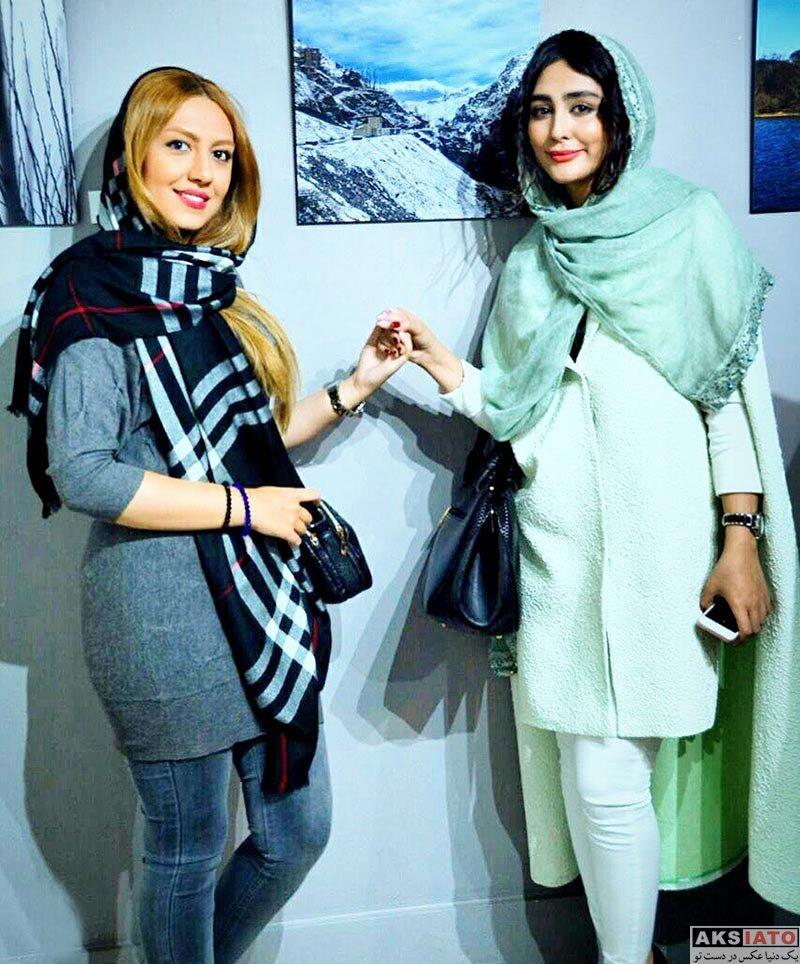 بازیگران بازیگران زن ایرانی  ستاره حسینی در نمایشگاه عکس (2 عکس)