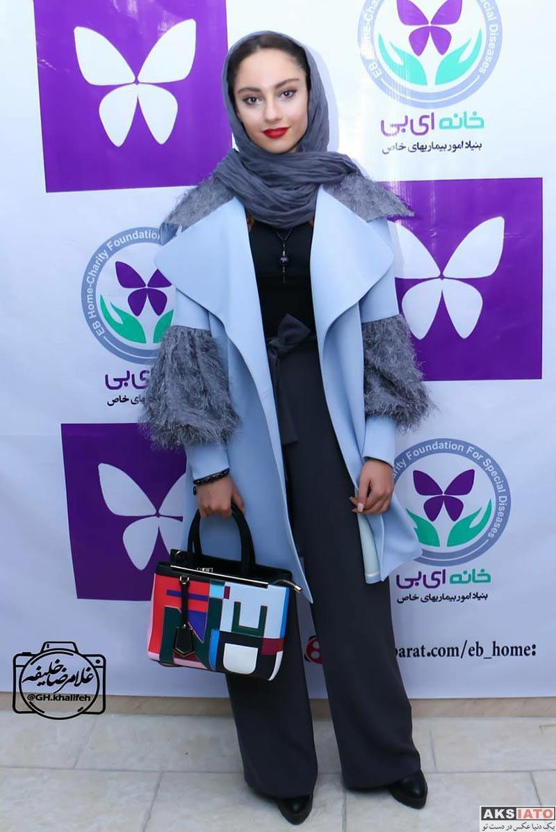 بازیگران بازیگران زن ایرانی  ترلان پروانه در اختتامیه بازارچه خانه ای بی (4 عکس)