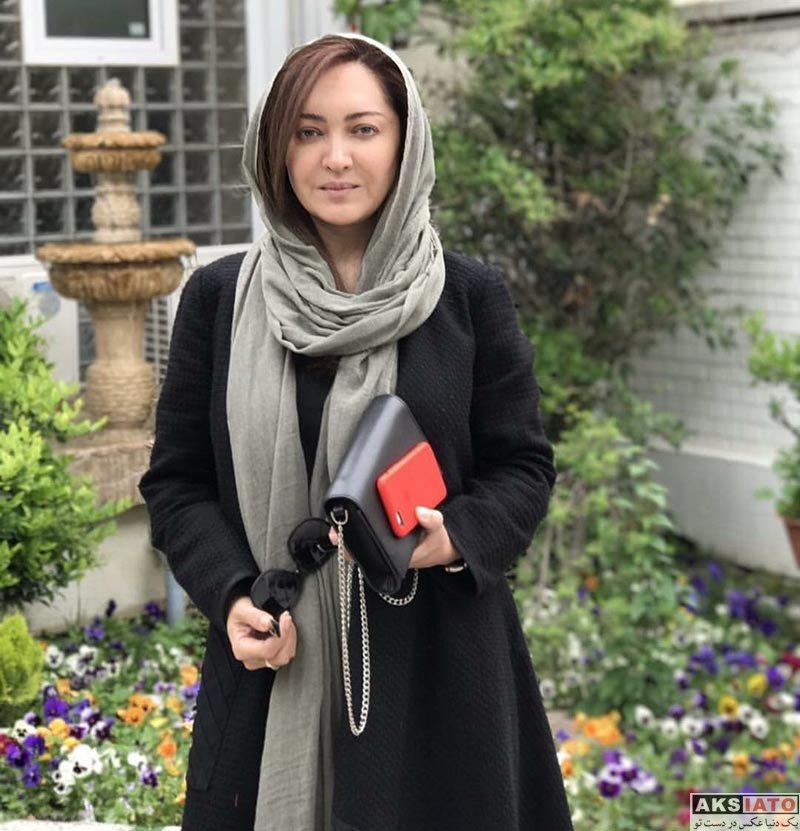 بازیگران بازیگران زن ایرانی  نیکی کریمی در سالن آرایش و زیبایی مو (2 عکس)