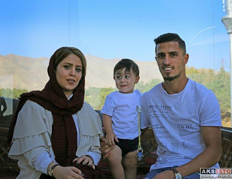 خانوادگی  علی علیپور به همراه همسرش زهرا دژوان در آبان 96 (2 عکس)