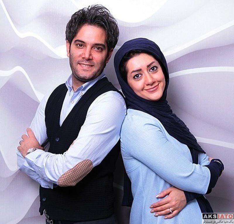 خانوادگی عکس آتلیه و استودیو  عکس های امیرعلی نبویان و همسرش برای مجله کولاک