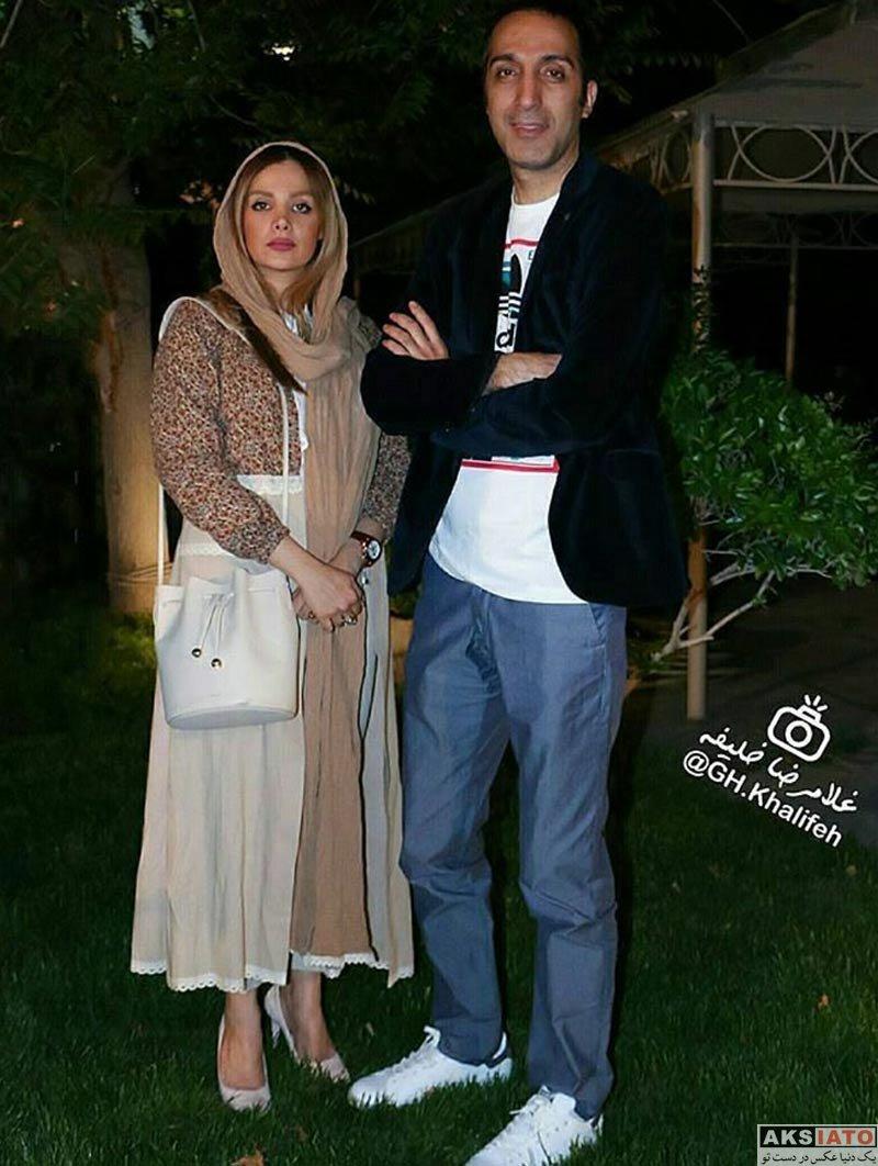 خانوادگی  عکس های جدید امیرمهدی ژوله و همسرش