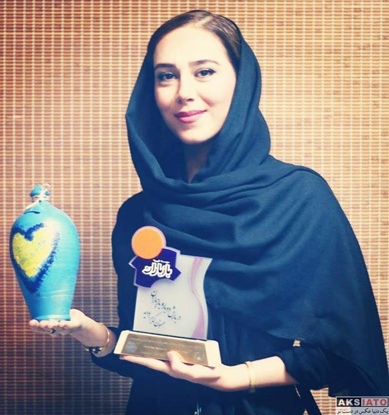 بازیگران بازیگران زن ایرانی  الهام جعفرنژاد در بازارچه خیریه باز باران (۳ عکس)