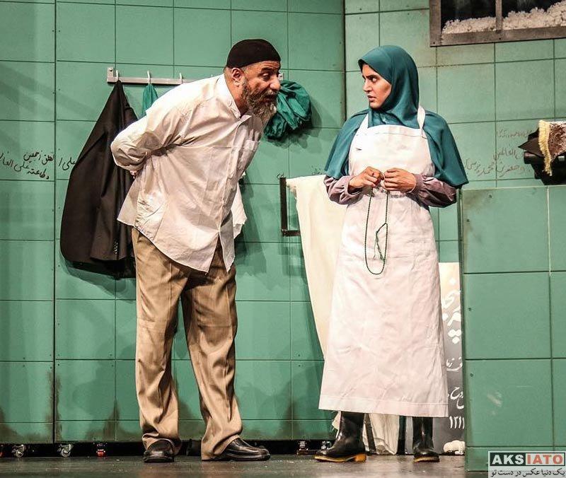 بازیگران بازیگران زن ایرانی  الناز شاکردوست تیپ متفاوت در نمایش گم و گور (4 عکس)