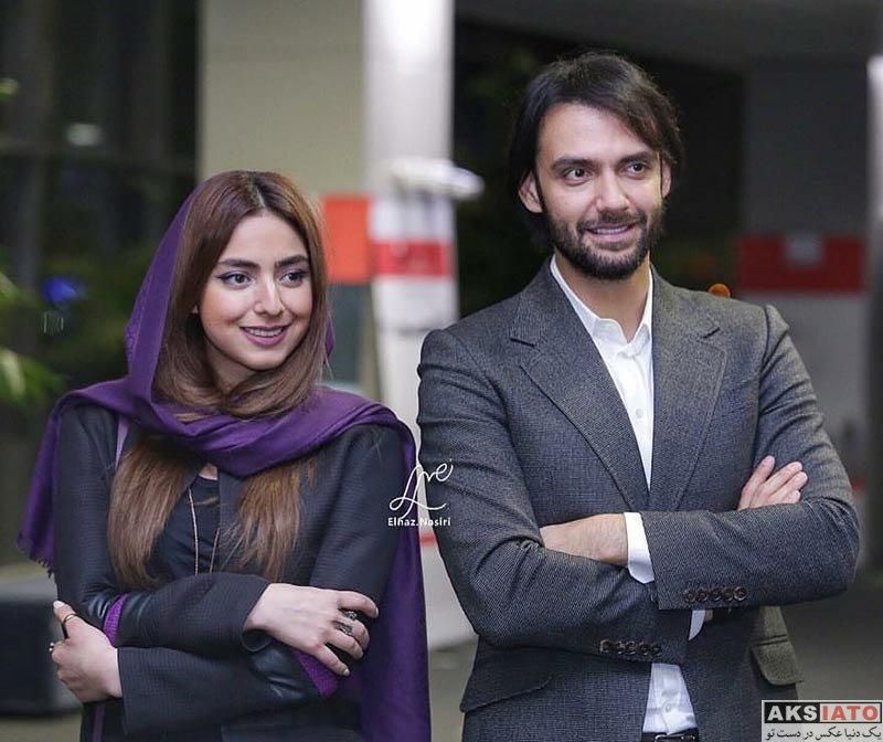 بازیگران بازیگران زن ایرانی  حنا فردین در اکران خصوصی فیلم انزوا (۴ عکس)