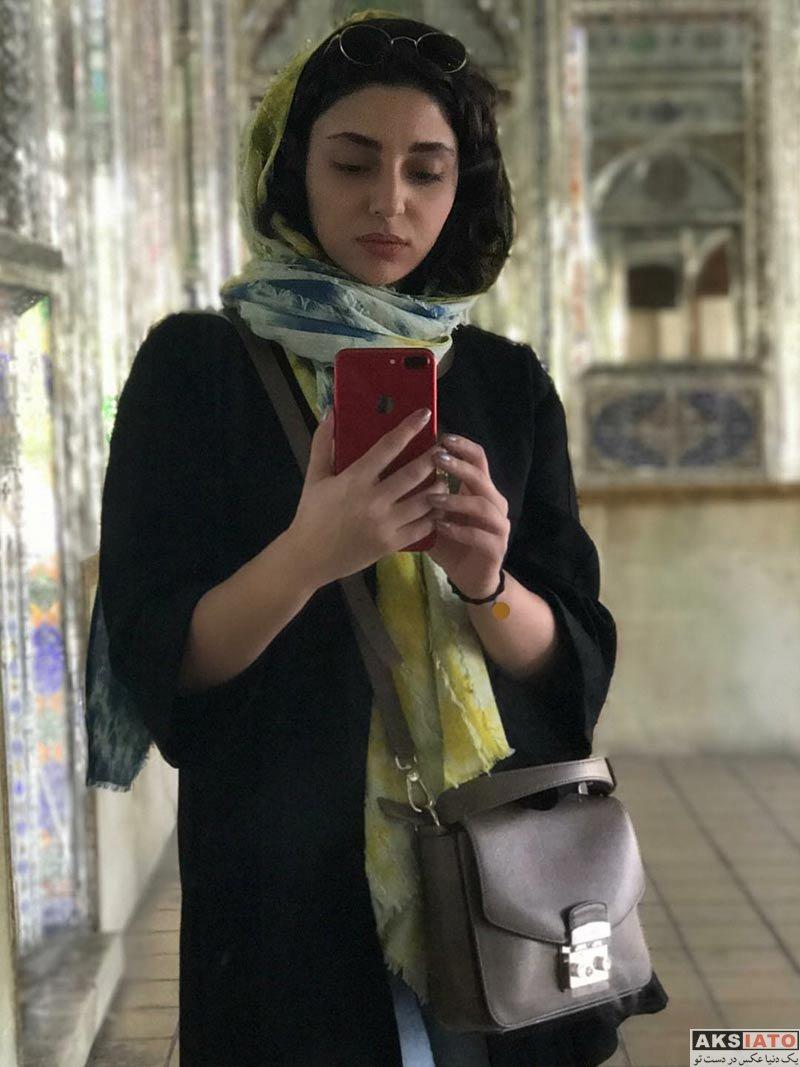 بازیگران بازیگران زن ایرانی  عکس های هستی مهدوی در آبان ماه ۹۶ (6 تصویر)