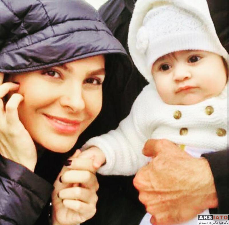 بازیگران خانوادگی هومن سیدی تصویری از همسر و دخترش منتشر کرد