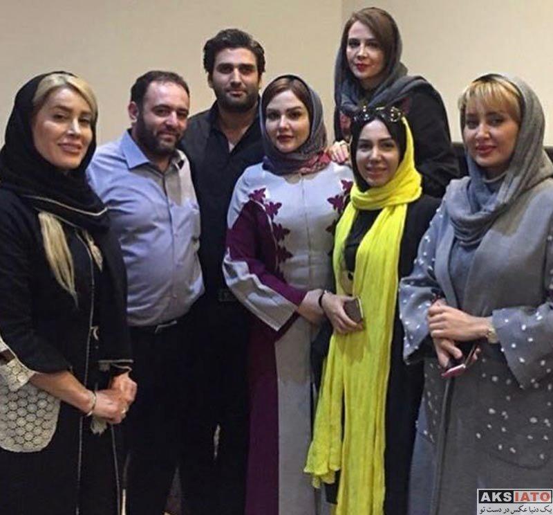 بازیگران بازیگران زن ایرانی  دورهمی هنرمندان خانم در رستوران نیل (4 عکس)