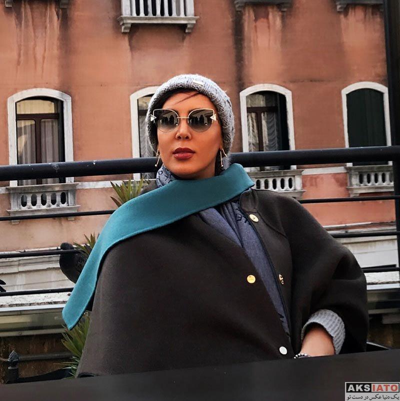 بازیگران بازیگران زن ایرانی  لیلا بلوکات در ونیز ایتالیا در آبان 96 (3 عکس)
