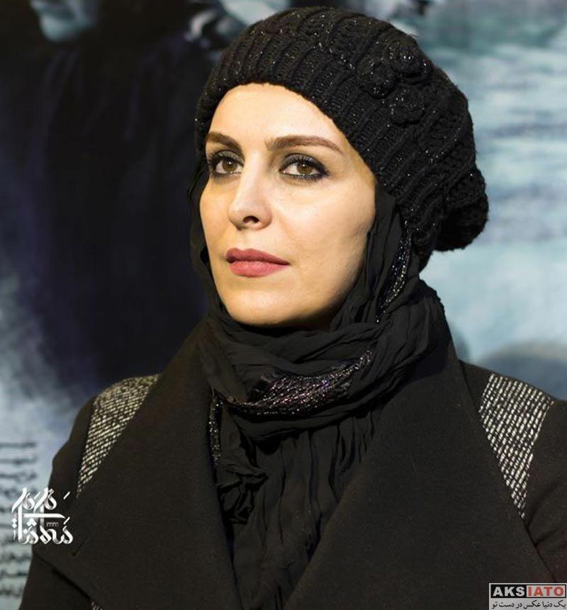 بازیگران بازیگران زن ایرانی ماه چهره خلیلی در اکران مردمی فیلم اشنوگل در مشهد (3 عکس)