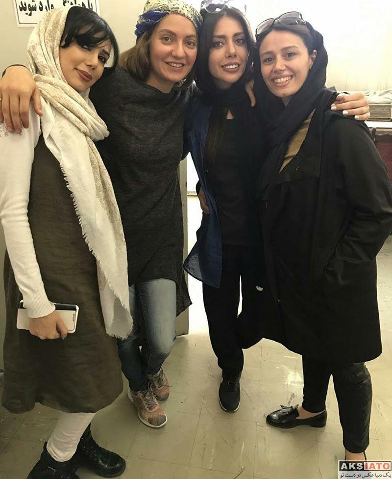 بازیگران بازیگران زن ایرانی مهناز افشار سر تمرین نمایش الیور توئیست (3 عکس)