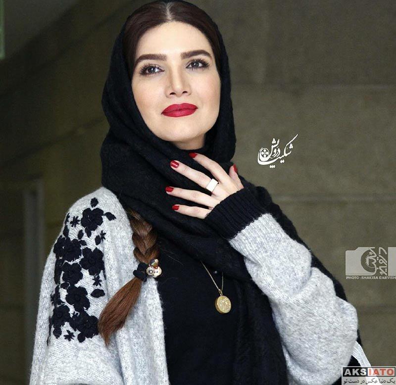 بازیگران بازیگران زن ایرانی  متین ستوده در اکران خصوصی فیلم وقتی برگشتم (5 عکس)