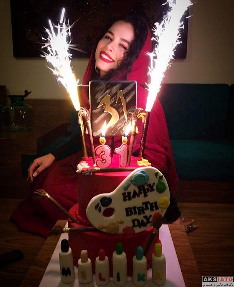 بازیگران بازیگران زن ایرانی جشن تولد ها  جشن تولد 31 سالگی ملیکا شریفی نیا