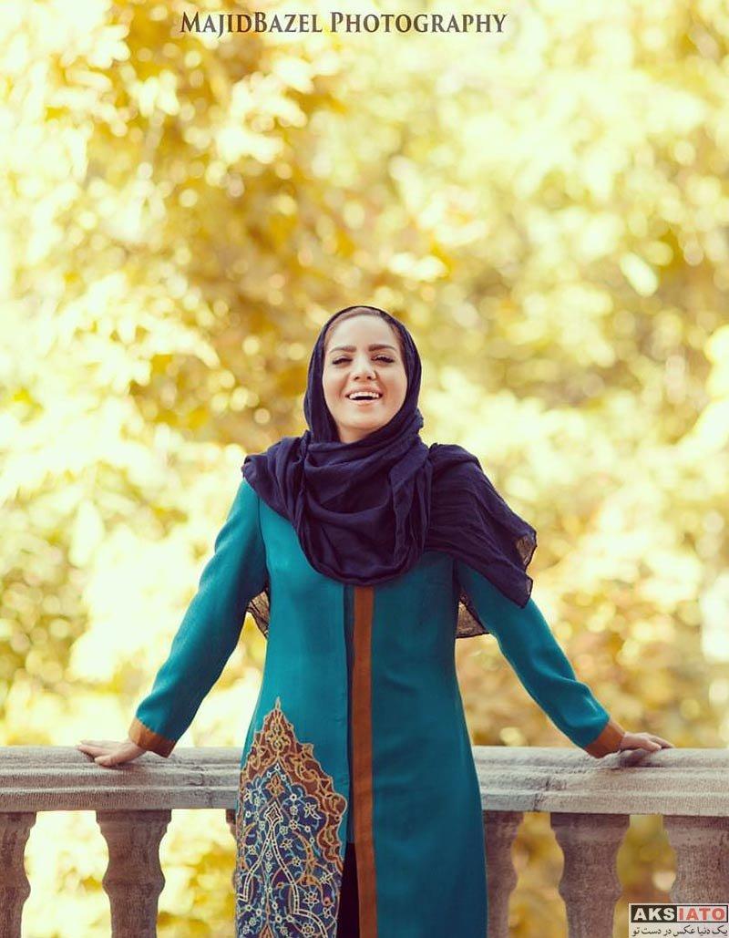 بازیگران مجریان  فتوشات های مبینا نصیری مجری برنامه صبح بخیر ایران