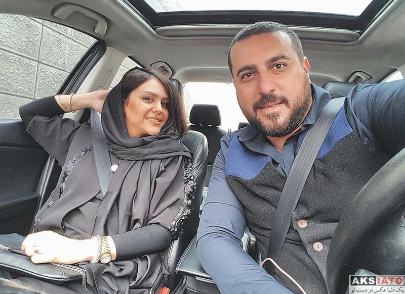 خانوادگی  عکس محسن کیایی به مناسبت تولد همسرش