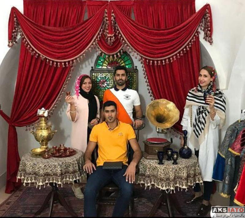 خانوادگی  مجتبی میرزاجانپور و همسرش در شمال ایران (2 عکس)