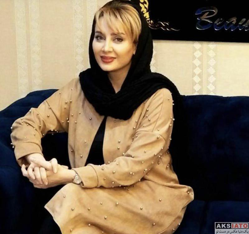 بازیگران بازیگران زن ایرانی  سولماز حصاری در مرکز زیبایی نیاوران (2 عکس)
