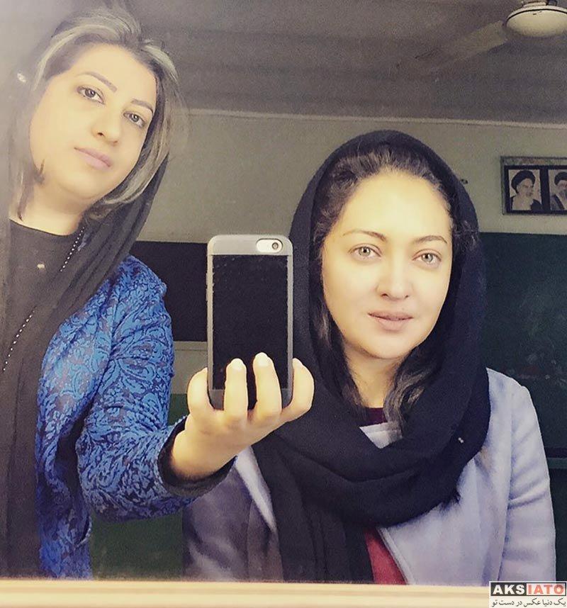 بازیگران بازیگران زن ایرانی عکس های نیکی کریمی در آبان ماه 96 (7 تصویر)