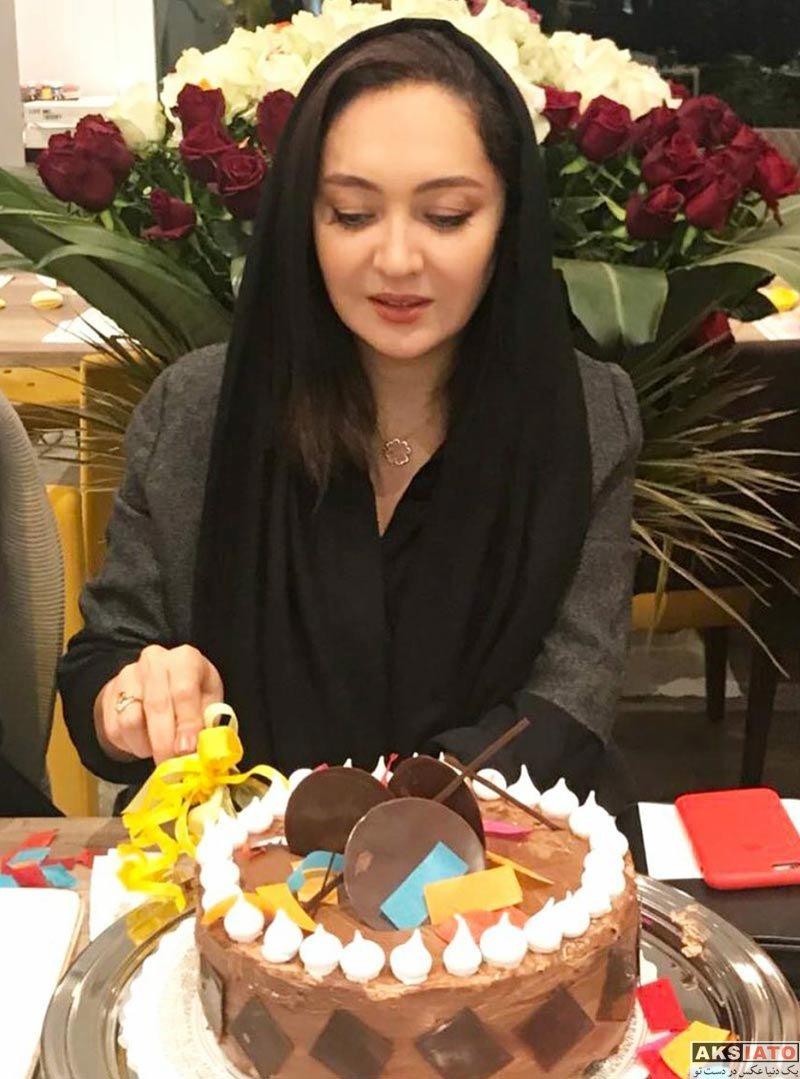 بازیگران بازیگران زن ایرانی جشن تولد ها  جشن تولد 46 سالگی نیکی کریمی در کنار دوستانش (4 عکس)