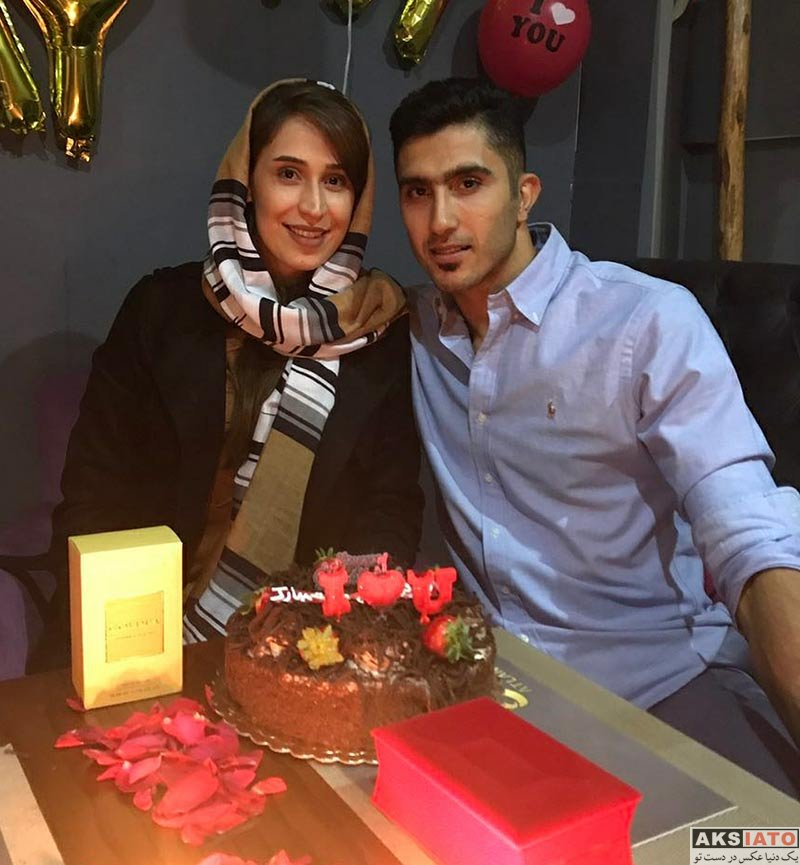 خانوادگی  جشن تولد نیلوفر ابراهیمی همسر مجتبی میرزاجانپور (3 عکس)