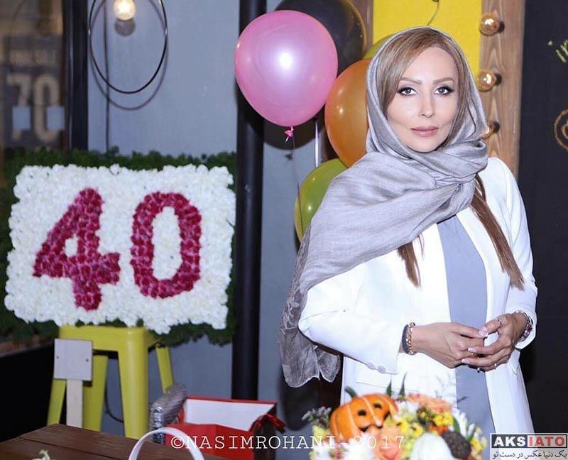 بازیگران بازیگران زن ایرانی جشن تولد ها  تولد 40 سالگی پرستو صالحی با حضور هنرمندان (10 عکس)
