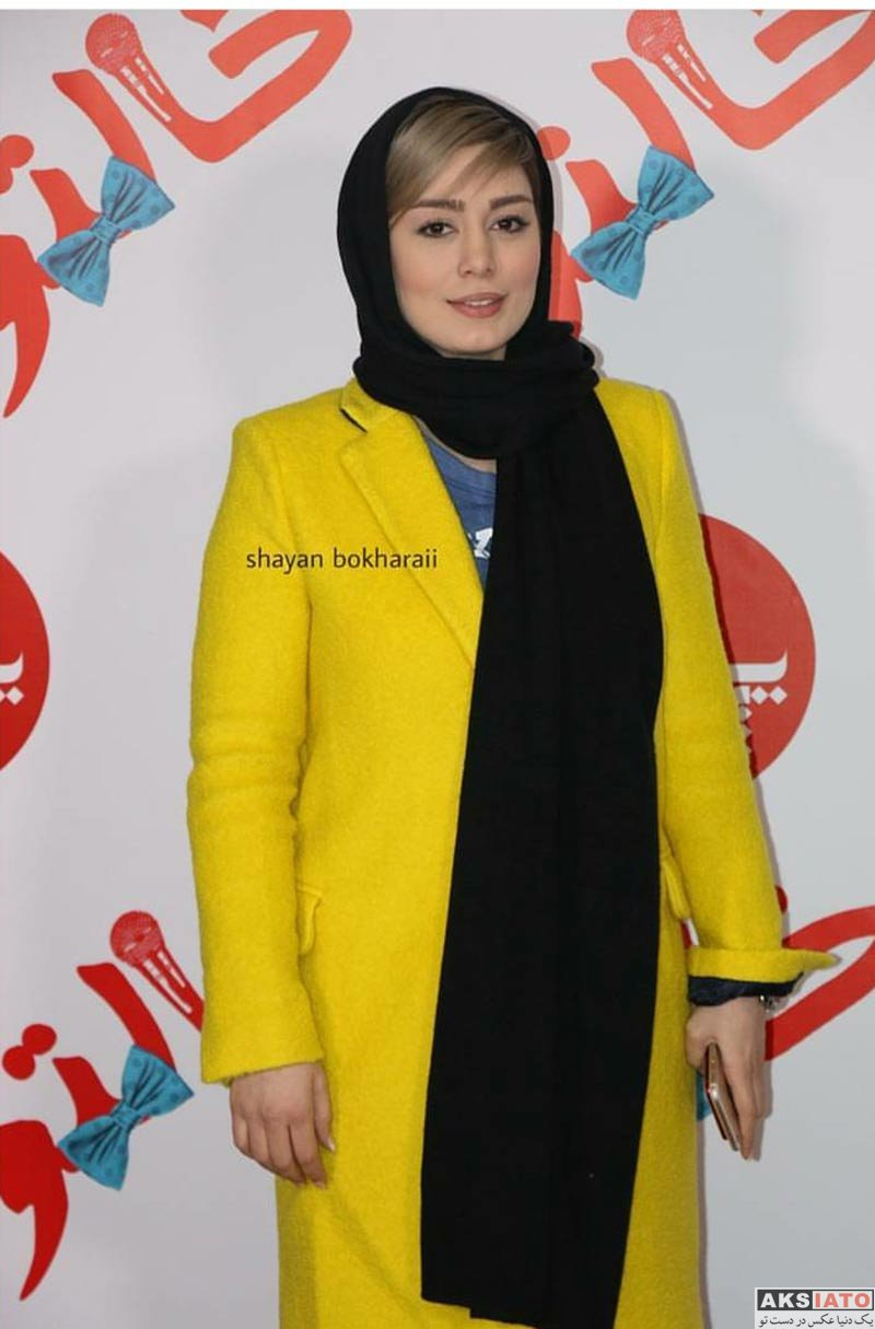 بازیگران بازیگران زن ایرانی  سحر قریشی در اکران مردمی فیلم خالتور در پردیس زندگی (8 عکس)