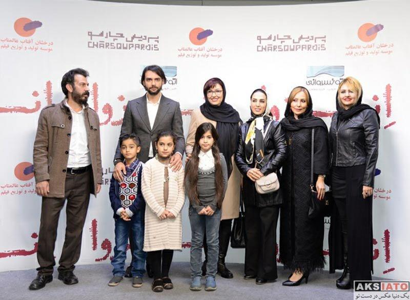 بازیگران بازیگران زن ایرانی  سحر خزائیلی در اکران خصوصی فیلم انزوا (3 عکس)