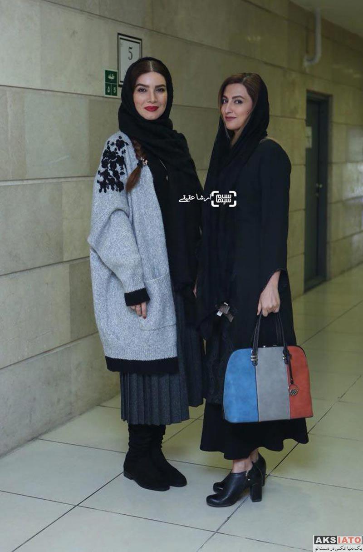 بازیگران بازیگران زن ایرانی  سمیرا حسینی در اکران خصوصی فیلم وقتی برگشتم (5 عکس)