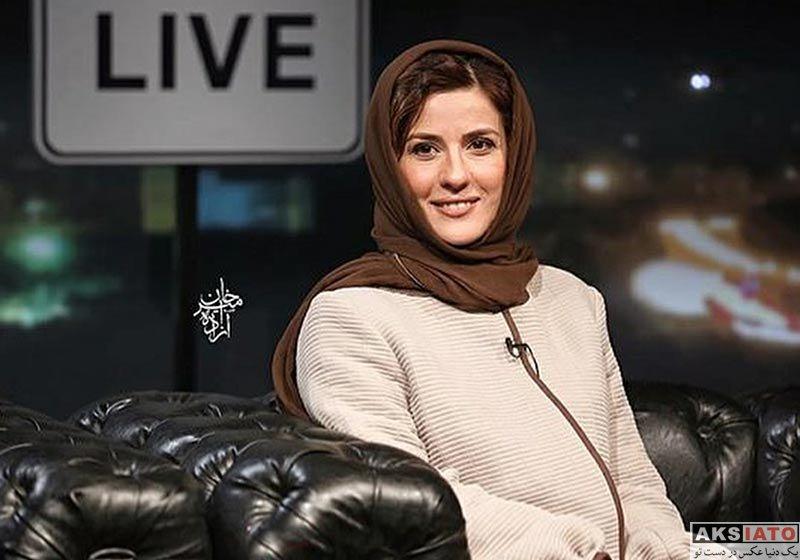 بازیگران بازیگران زن ایرانی  سارا بهرامی و حامد کمیلی در برنامه سی و پنج (2 عکس)