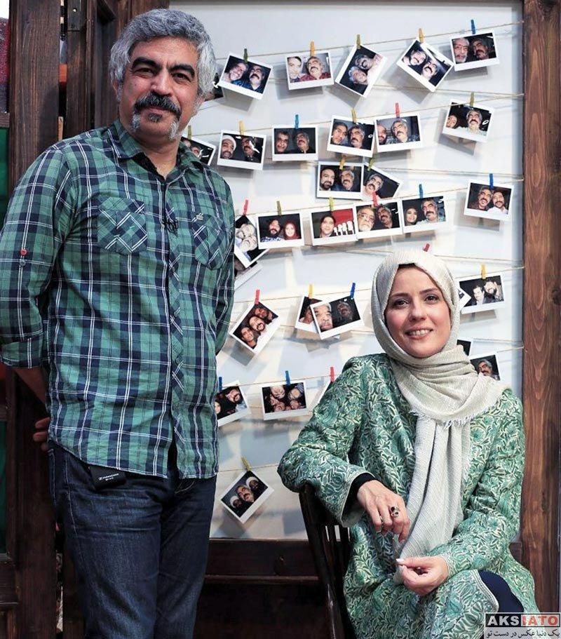 بازیگران بازیگران زن ایرانی  سارا بهرامی در برنامه کتاب باز (2 عکس)