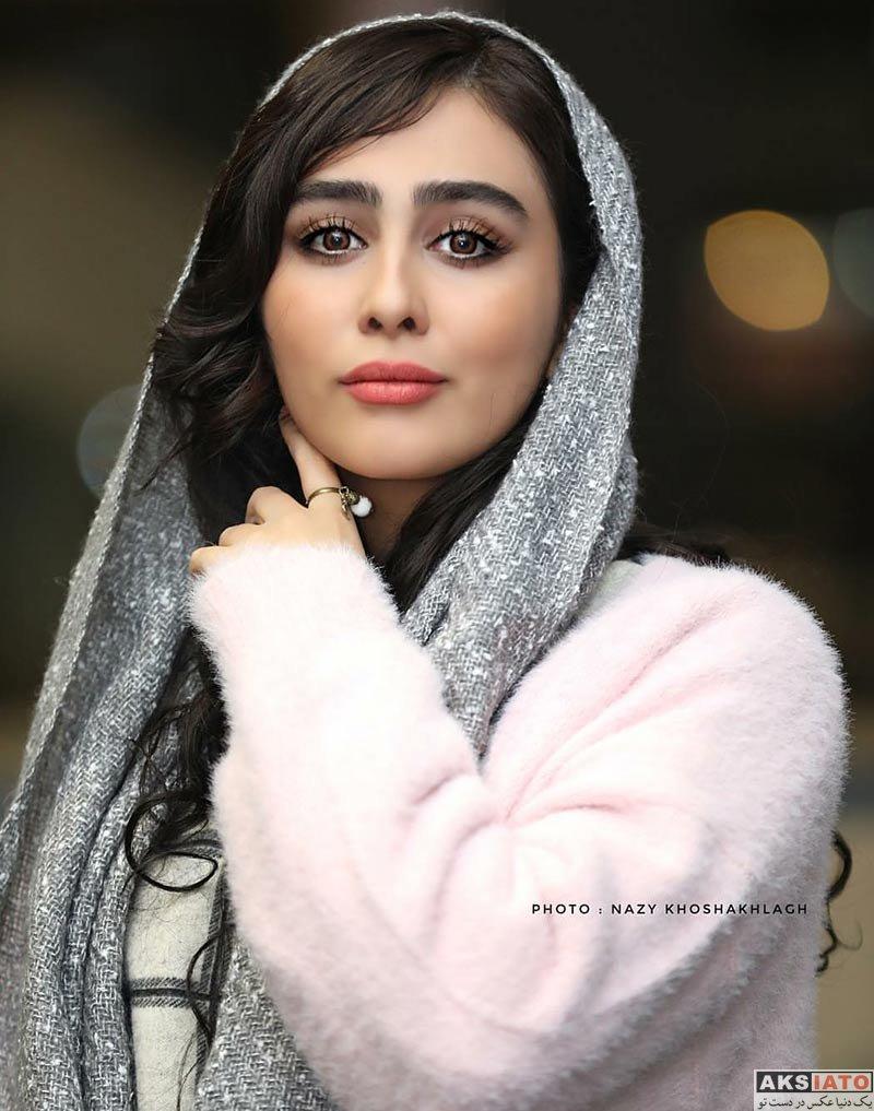 بازیگران بازیگران زن ایرانی  ستاره حسینی در اکران خصوصی فیلم انزوا (4 عکس)