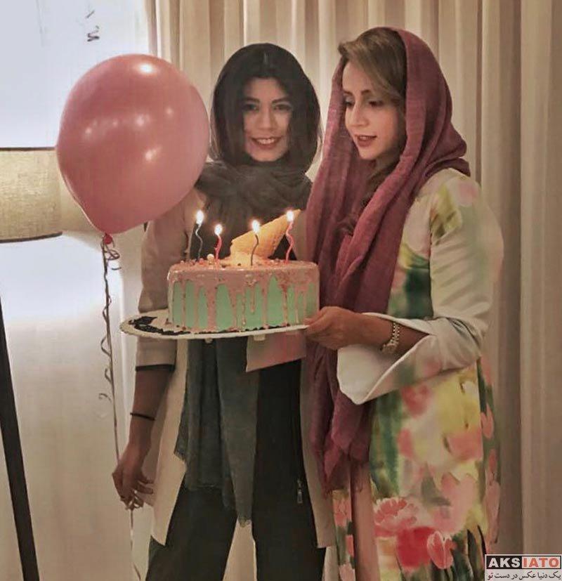 بازیگران بازیگران زن ایرانی جشن تولد ها  جشن تولد 40 سالگی شبنم قلی خانی (4 عکس)