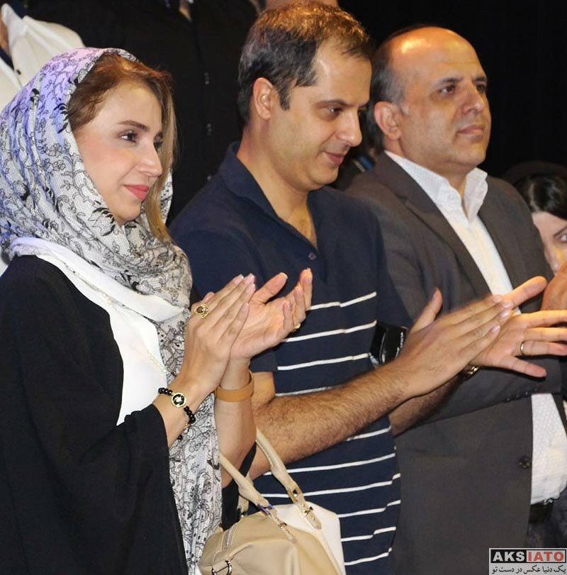 بازیگران بازیگران زن ایرانی  شبنم قلی خانی در اجرای نمایش مرد بالشی (3 عکس)