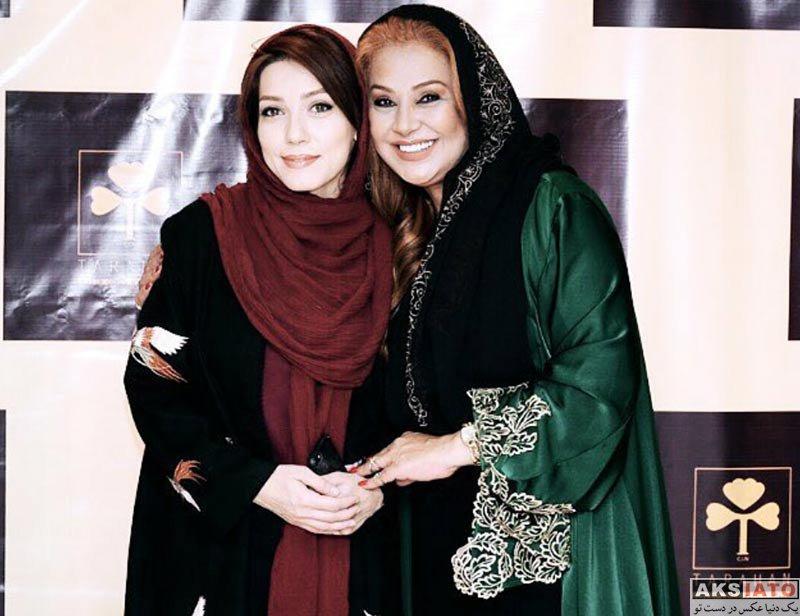 بازیگران بازیگران زن ایرانی  شهرزاد کمال زاده در سالن زیبایی طراحان (3 عکس)