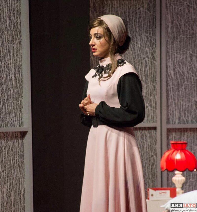 بازیگران بازیگران زن ایرانی ویدا جوان در نمایش به مناسبت ورود اشکان (4 عکس)