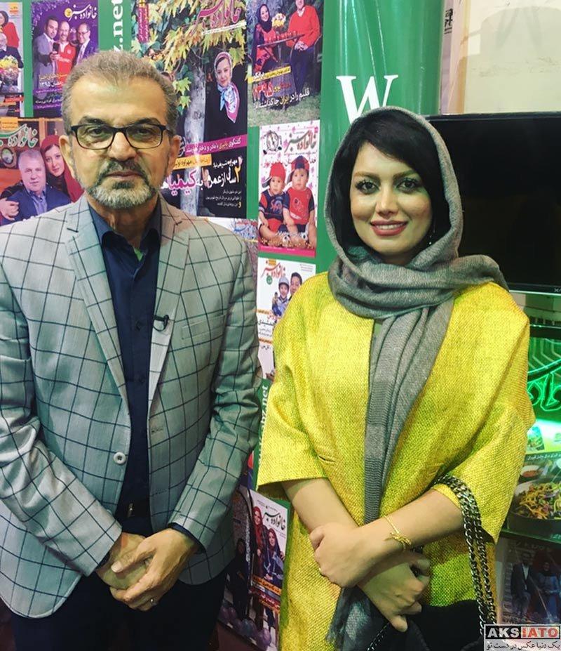 بازیگران بازیگران زن ایرانی  ژاله درستگار در بیست و سومین نمایشگاه مطبوعات (4 عکس)