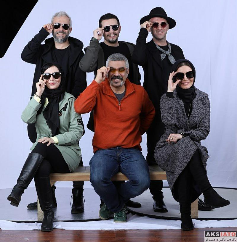 بازیگران عکس آتلیه و استودیو  عکس های آتلیه بازیگران سریال لیسانسه ها (5 تصویر)
